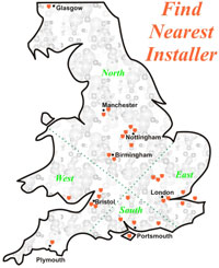 Click image to find nearest UK Thatcham Recognised Car Alarm Installer